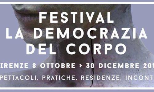 La democrazia del corpo / programma e biglietteria
