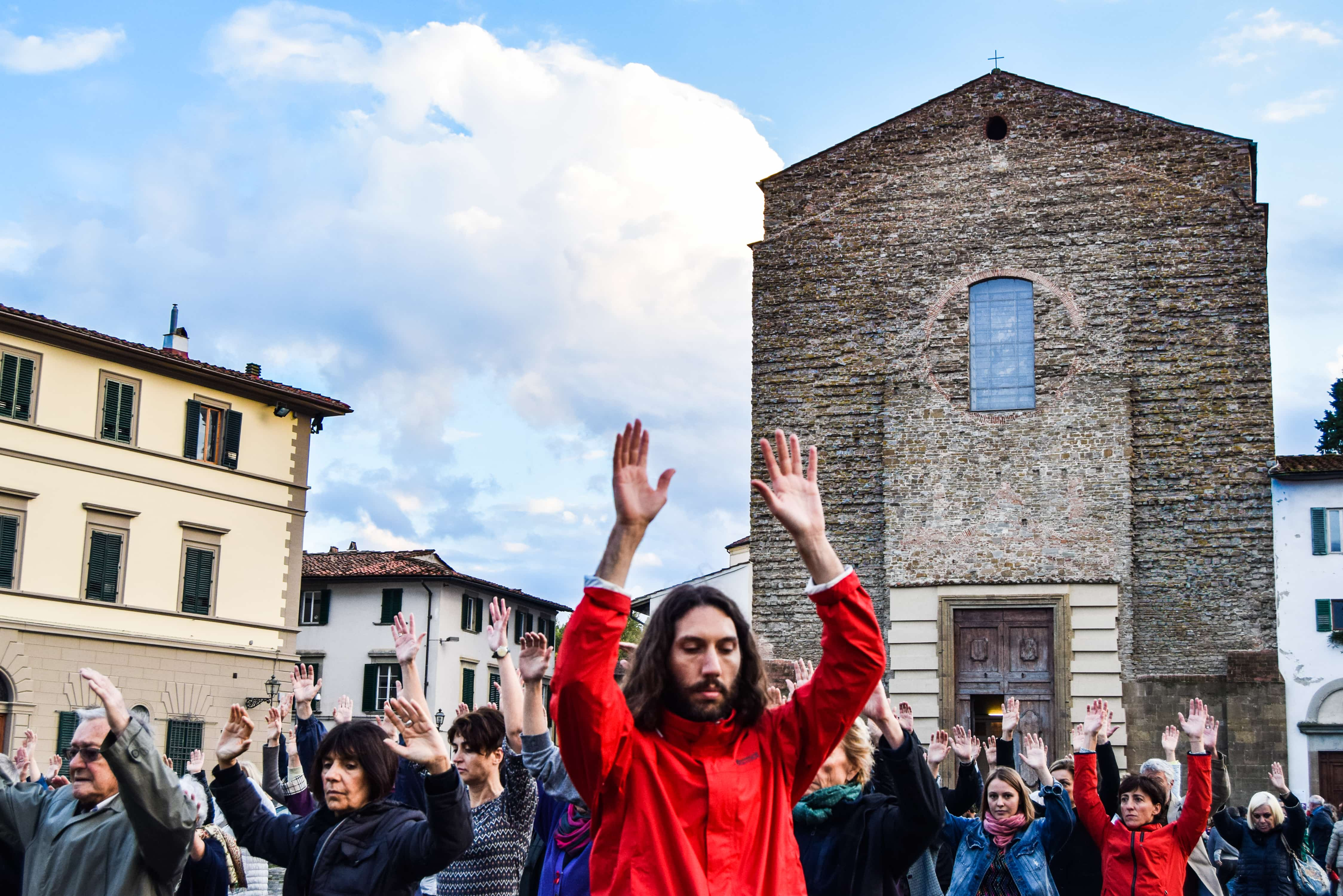 CAMMINO POPOLARE_Piazza del Carmine ph.Michelle Davis