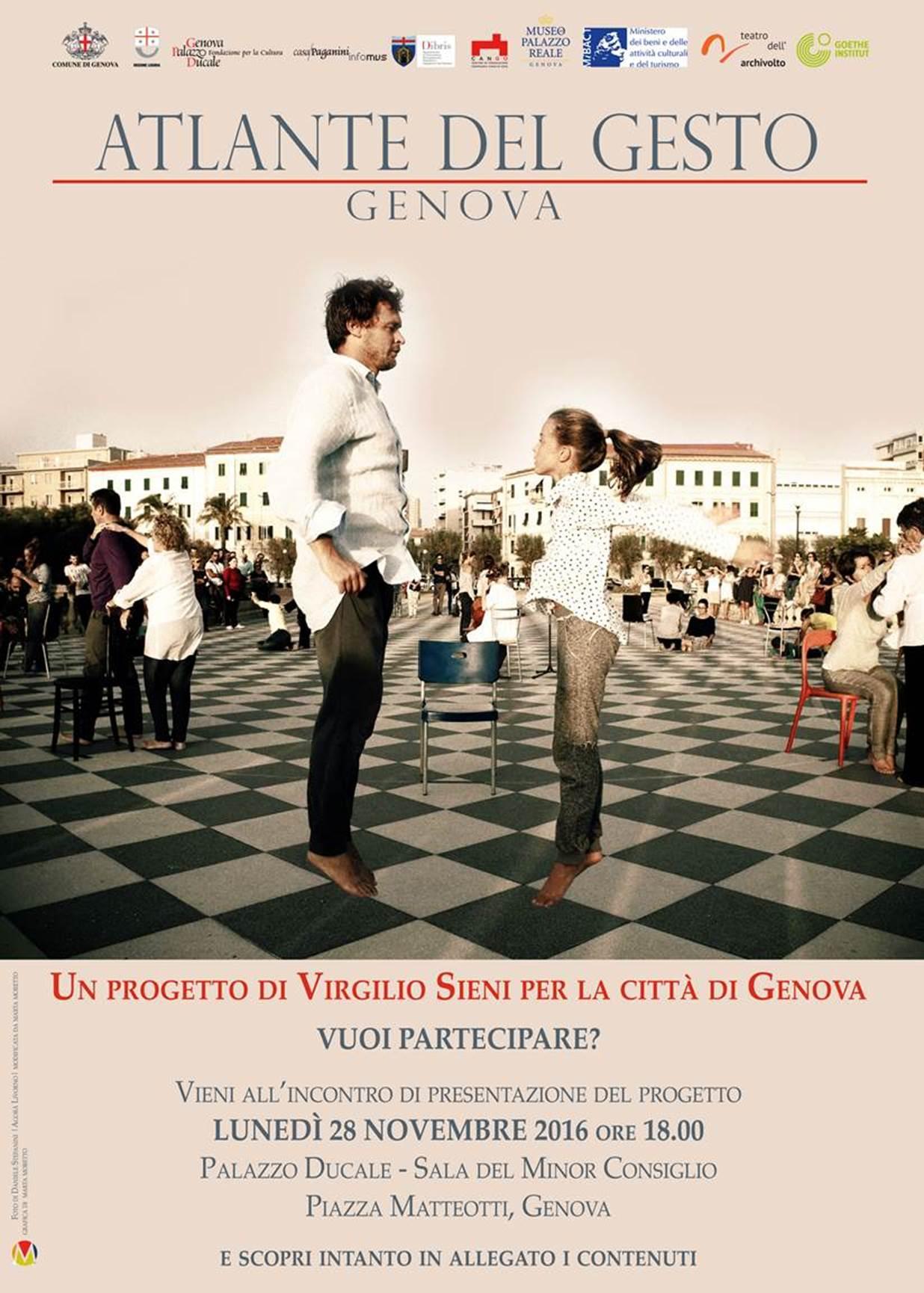 ATALNTE DEL GESTO_Genova vuoi partecipare?