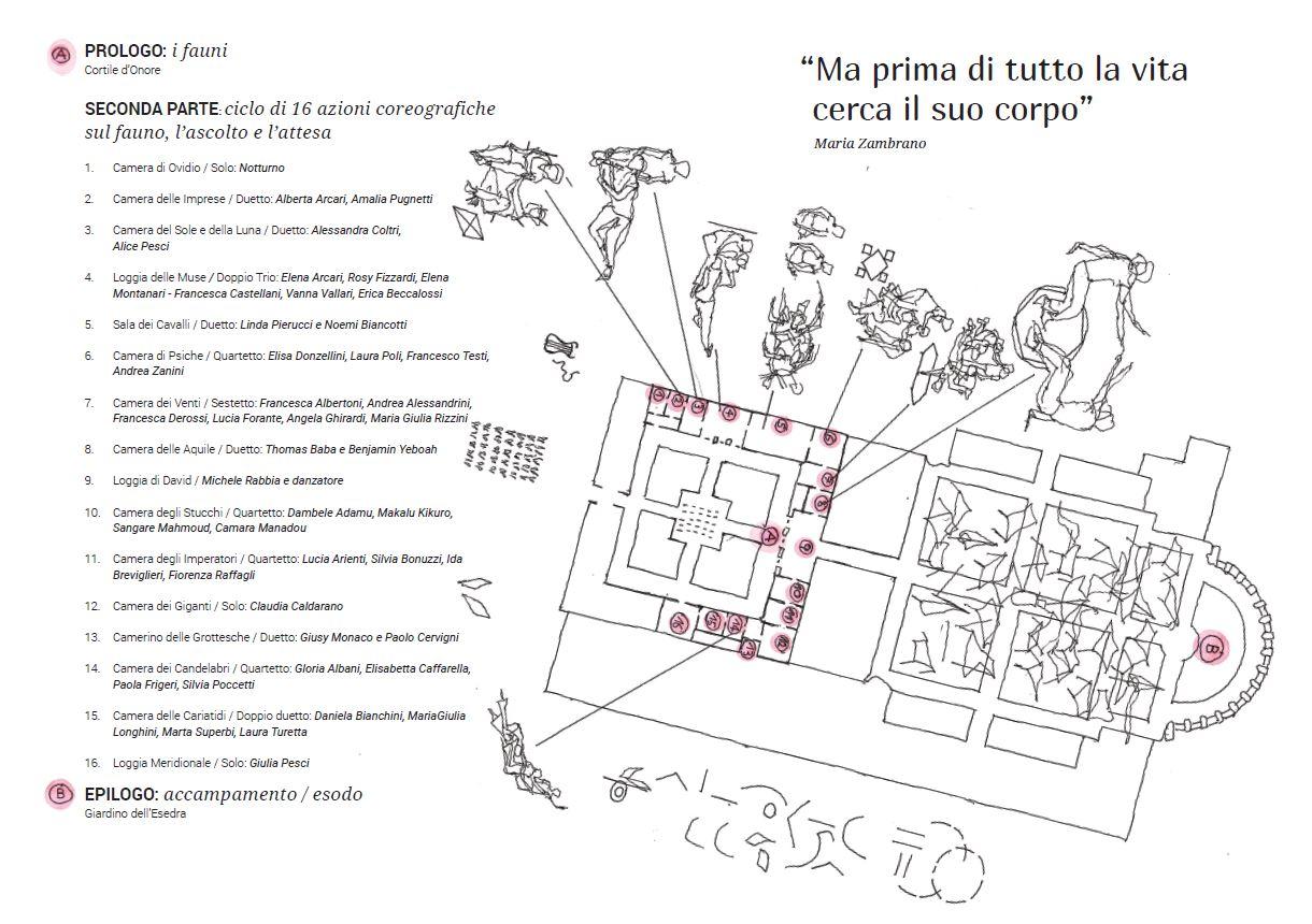 Pianta Palazzo Te – Mantova 2017