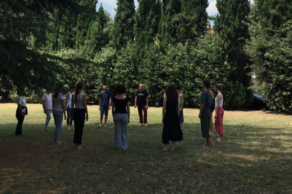 FIRENZE | SCUOLA SUL GESTO E IL PAESAGGIO | percorso di formazione per operatori culturali, educatori e artisti