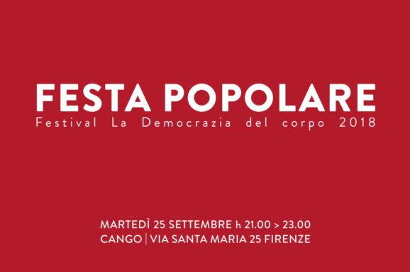 FIRENZE | CANGO | FESTA POPOLARE | DJ FUNKAMARI | 25 SETTEMBRE H 21.00