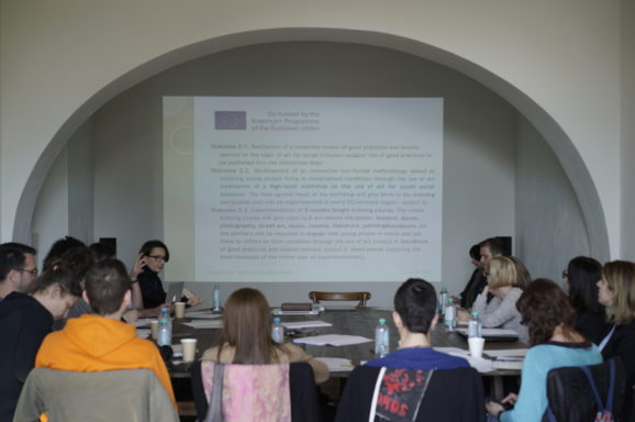 <b>InterArts</b>: Youth Communities for Social Inclusion