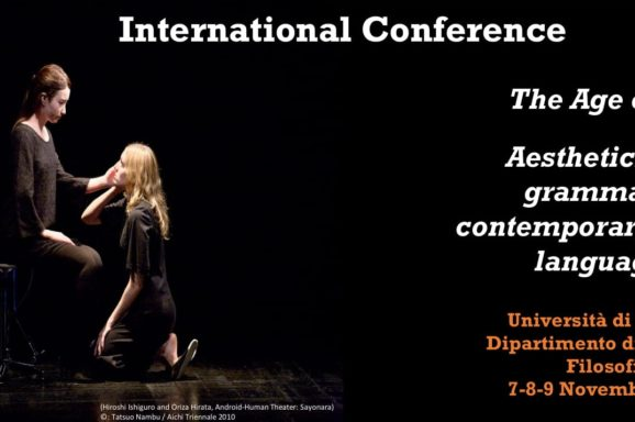 FIRENZE | INTERNATIONAL CONFERENCE THE AGE OF ART | 9 NOVEMBRE