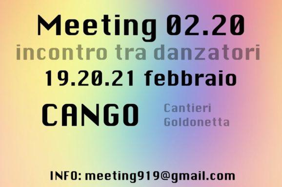 FIRENZE | CANGO | MEETING 2020